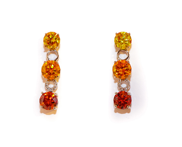 sphalerite earrings lisi fracchia